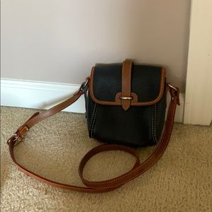 Authentic Dooney & Bourke small leather crossbody